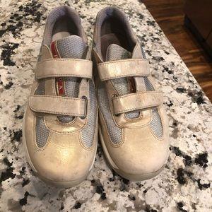 Prada America's Cup Velcro sneakers 9 / 39